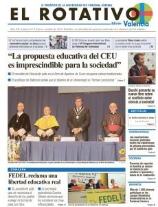 portada periodico el rotativo edicion valencia octubre 2010