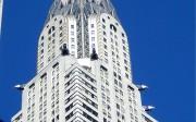 Cúpula del gratacels Chrysler Building, a Nova York