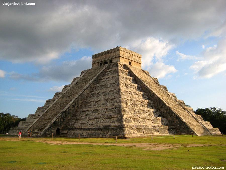 Temple de Kukulcan. Chichen Itza, Mèxic