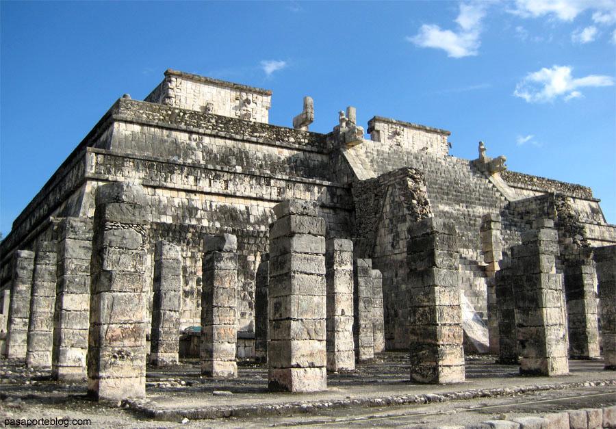 Temple de les Mil columnes o Mercat a Chichen Itza