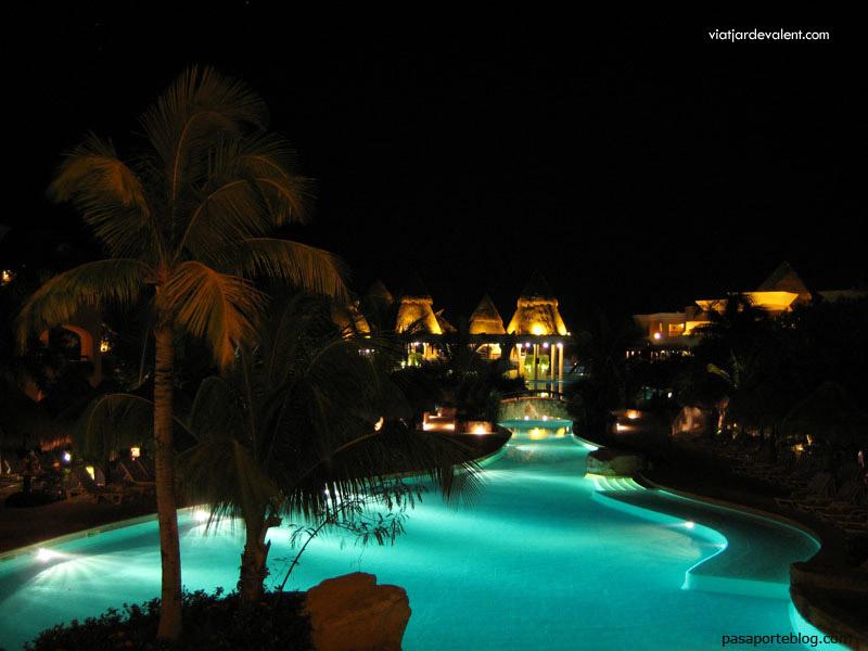 Piscines de l'Hotel Iberostar Paraiso Maya de Cancún, Mèxic