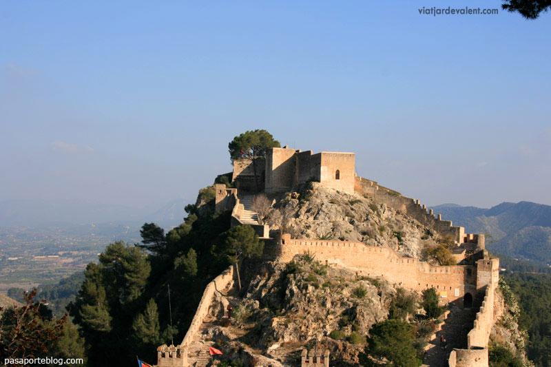 El castell de Xàtiva