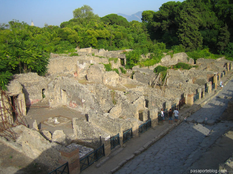 Pompeia al capvespre