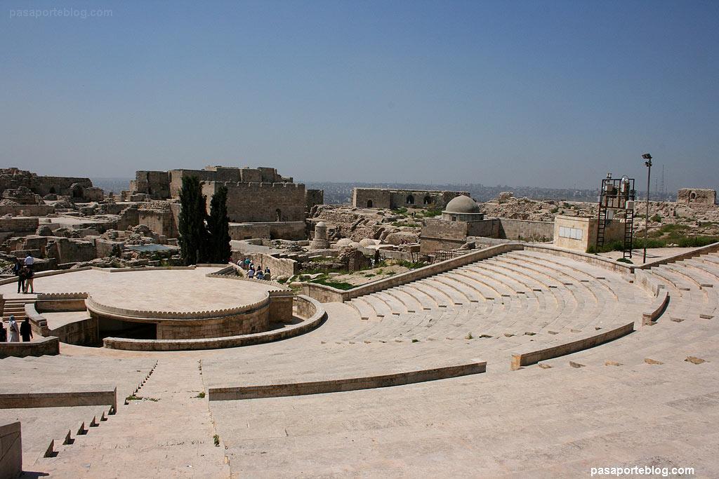 Ciutadella Alep fortalesa islàmica