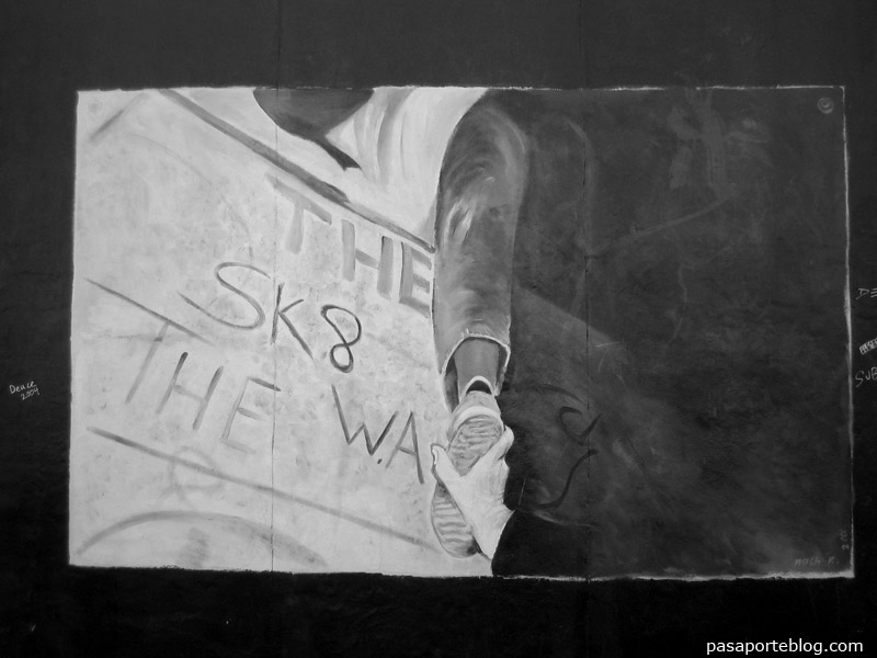 grafit Mur de Berlín