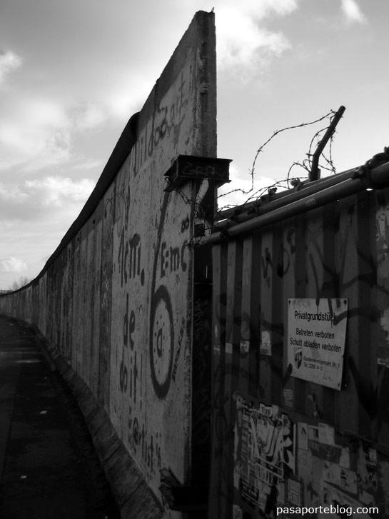 Mur de Berlín lateral