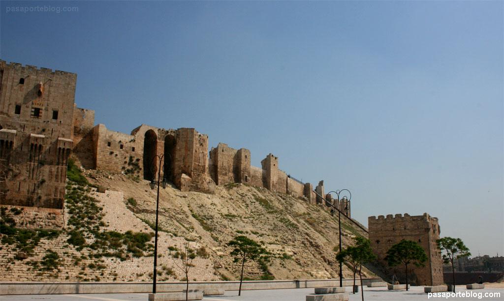 Muralles fortalesa Alep sÍria