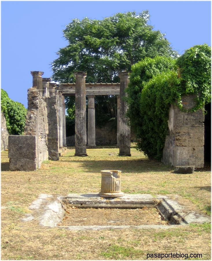 Pompeia casa romana
