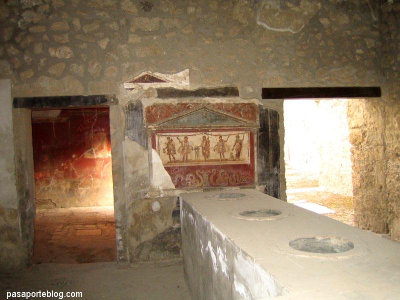 thermoplium, pompeia