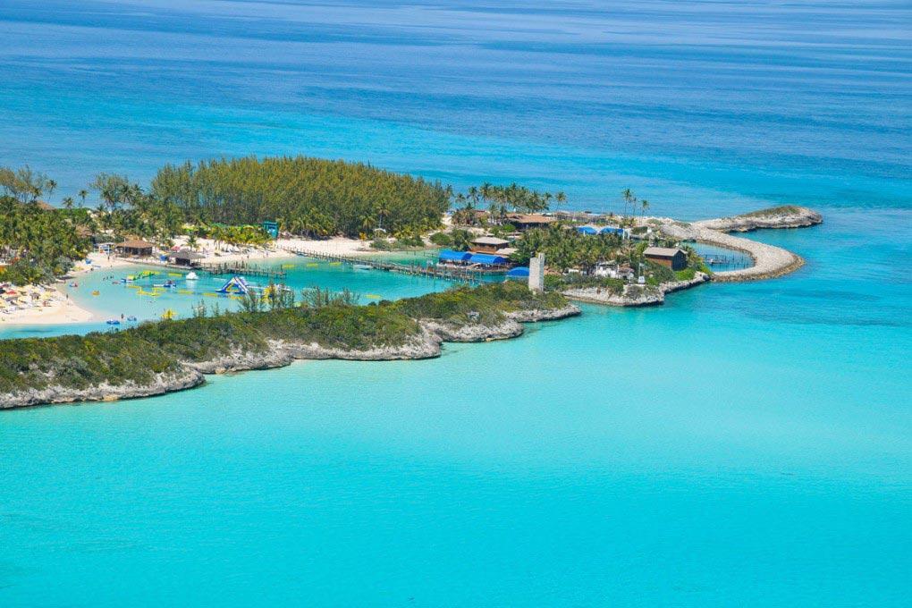 isla blue lagoon creuer per les bahames blog viatjar